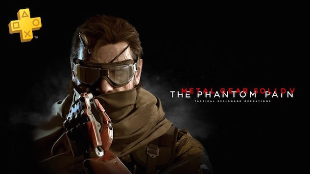 October Playstation Plus Free Games Include <i>Metal Gear Solid V</i>