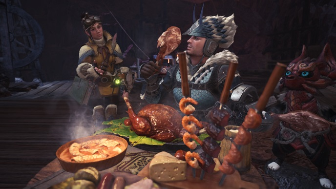 MHW Always eat before hunting.jpg
