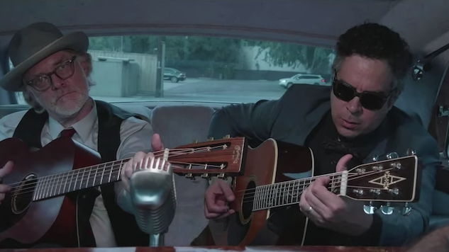 "Exclusive: Watch M. Ward Sing ""Sad Sad Song"" in Elvis Presley's Car in <i>The King</i> Clip"