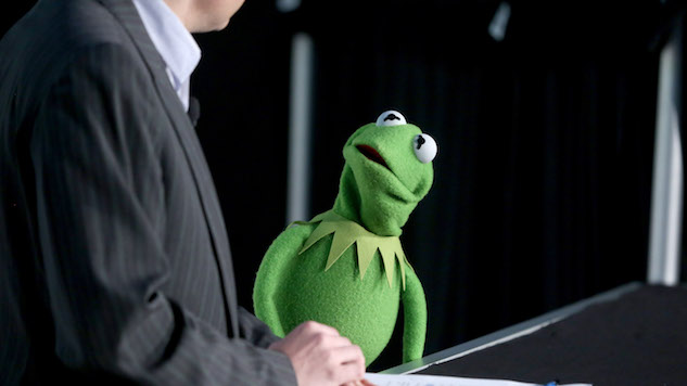 Voice of Kermit the Frog was sacked, didn't step down