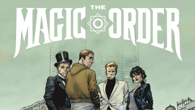 Mark Millar Details His First Comic for Netflix, Dark Fantasy Series <i>The Magic Order</i>