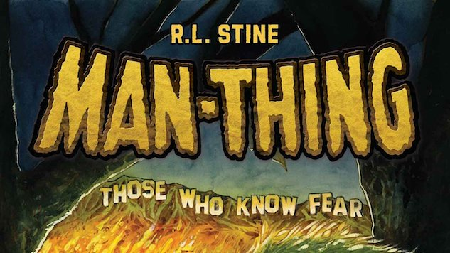 R L  Stine is Writing a Man-Thing Miniseries for Marvel :: Comics