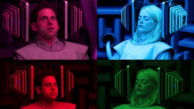 Here's Our Eerie First Look at <i>Maniac</i>, Cary Fukunaga's New Netflix Series Starring Jonah Hill and Emma Stone