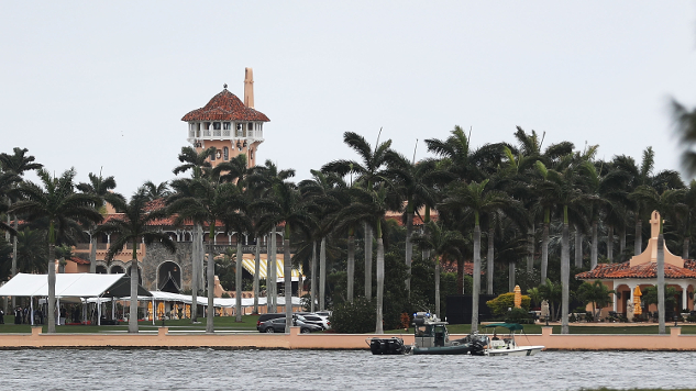 There's a New Website Specifically Made to Track Trump's Mar-a-Lago Visits