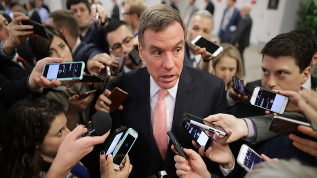 """Mark Warner: Congress Received """"Important New Documents"""" that Raise """"New Questions"""" in Trump-Russia Probe"""