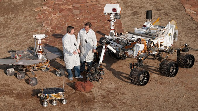 Suspension of Disbelief: The History of Mars Rovers and Landers