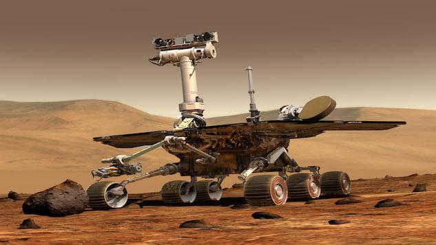 Mars Robot Turns 13