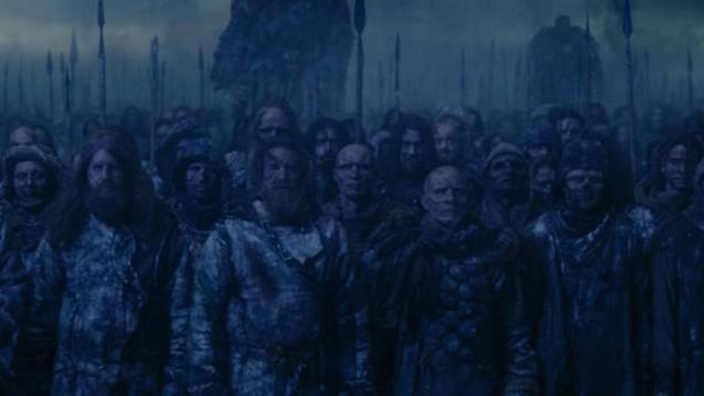 Mastodon Showed Up as Wights in Last Night's <i>Game of Thrones</i>