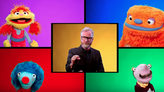 Watch Matt Berninger Rap About Long Words for <i>Sesame Street</i> Spinoff <i>Helpsters</i>