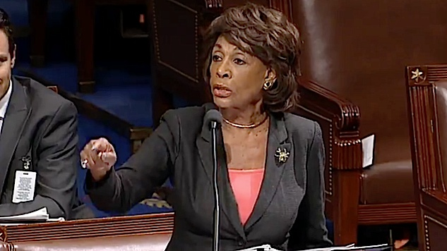 Mad Maxine Waters resents talk of making America great