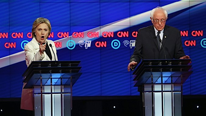 The Egregious Double Standards for Bernie and Hillary Supporters in the Media