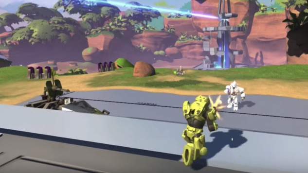 Check Out the Impressive Footage from the Canceled Halo Mega