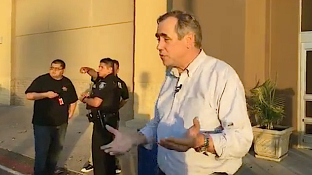 Dem Senator Tries to Visit an Immigration Center Where Children Are Held, Gets Cops Called on Him