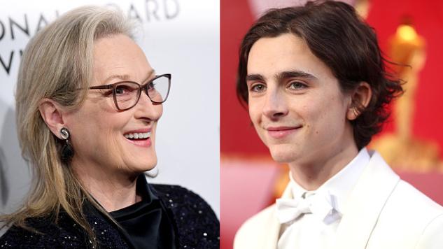 Meryl Streep, Saoirse Ronan, Timothée Chalamet in Talks to Star in Greta Gerwig's <i>Little Women</i>
