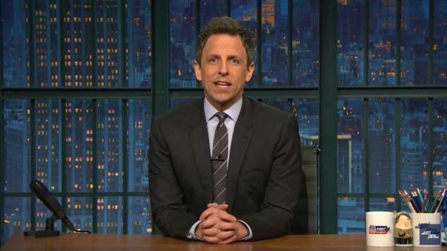 <i>Late Night with Seth Meyers</i> Has Become the New <i>Daily Show</i>