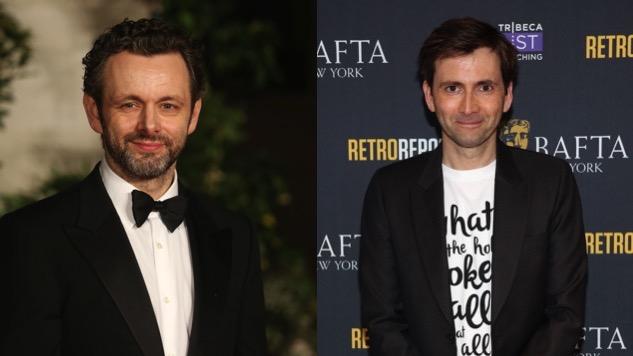 Michael Sheen, David Tennant to Star in Amazon's <i>Good Omens</i> Adaptation
