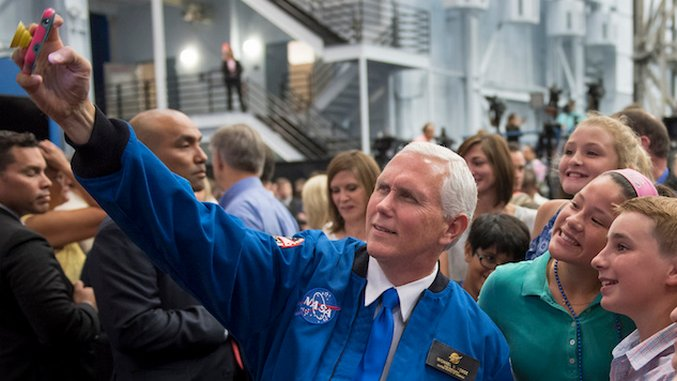 Finally, Mike Pence Will Oversee US Space Policy