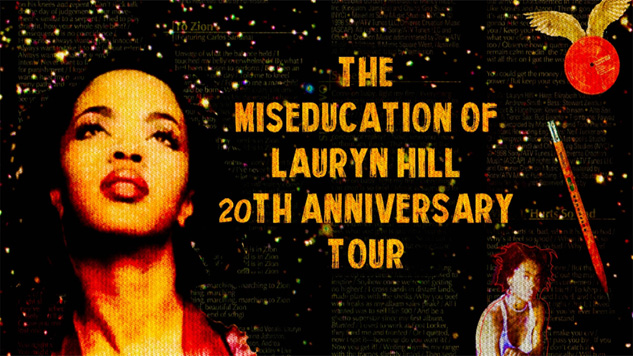Lauryn Hill Announces Opening Acts for Tour Celebrating 20th Anniversary of <i>The Miseducation</i>