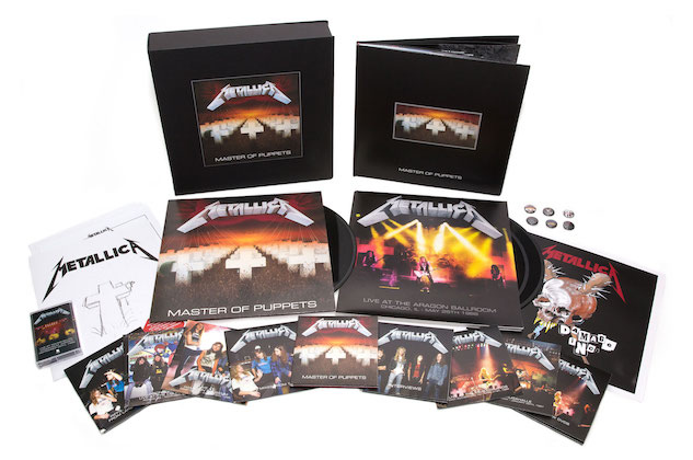 Metallica: <i>Master of Puppets</i> Deluxe Boxed Set Review
