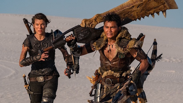 Leaked <i>Monster Hunter</i> Movie Trailer Introduces the Monsters