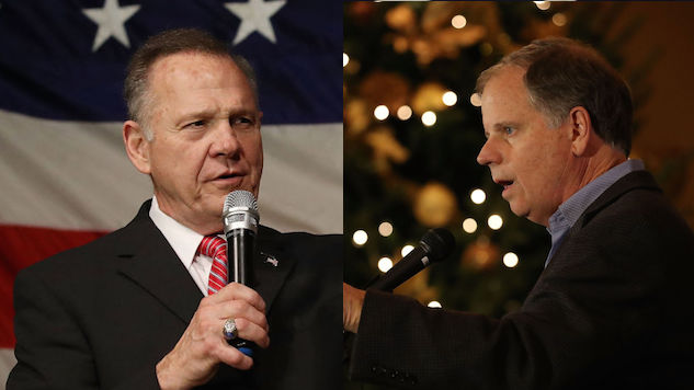 Here's Where We Stand in the Alabama Senate Race Between Doug Jones and Roy Moore With Four Days Left
