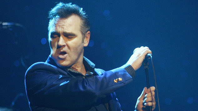 "Watch Morrissey Cover The Pretenders' ""Back on the Chain Gang"""