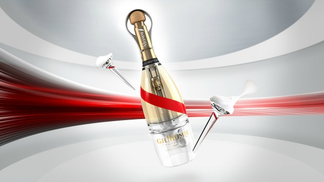 G.H. Mumm Figured Out How to Serve Champagne in Space
