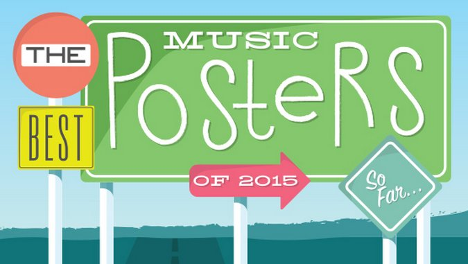 The 30 Best Music Posters of 2015 (So Far)