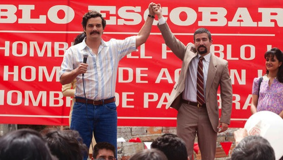 """<i>Narcos</i> Review: """"The Men of Always""""/""""The Palace in Flames"""""""