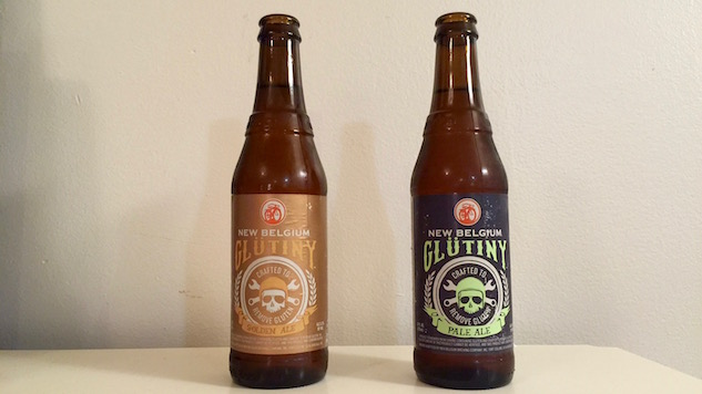 New Belgium Glutiny Golden Ale and Pale Ale Review