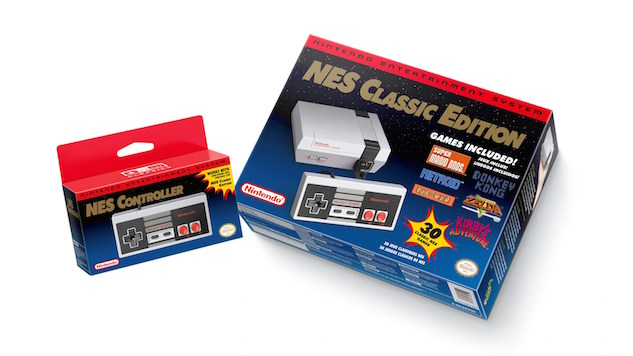 Nintendo's NES Classic Will Return to Stores in 2018