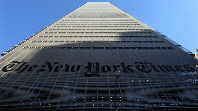 """<i>The New York Times</i> is Planning a """"Say Something Nice About Donald Trump"""" Column"""