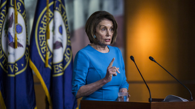 House Speaker Nancy Pelosi Is Defending All the Wrong People