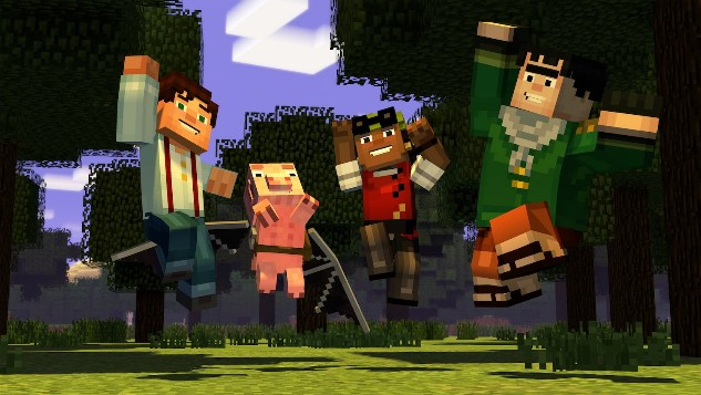 'Minecraft: Story Mode' will become a Netflix 'interactive story'