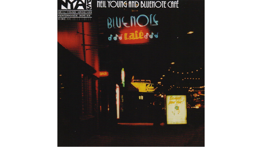 Neil Young: <i>Bluenote Café</i> Review