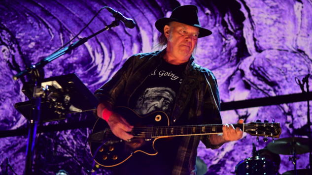 "Neil Young Releases Poignant New Live Video for CSNY's ""Ohio"""