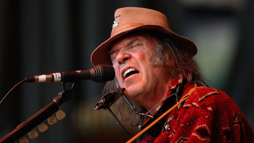 Neil Young Announces Live Album And Movie With Promise Of The Real, <i>Noise and Flowers</i>