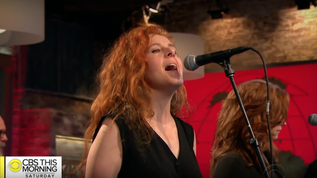Watch Neko Case Perform Tracks from <i>Hell-On</i> on <i>CBS This Morning</i>