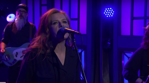 "Watch Neko Case Slay a Performance of ""Bad Luck"" on <i>Conan</i>"