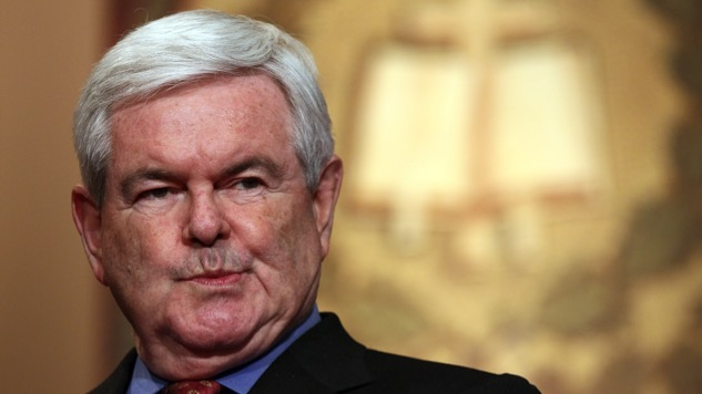 It's Gonna Be a Rough Judgment Day: Newt Gingrich Has Committed All Seven Deadly Sins