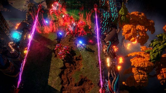 <i>Nex Machina</i> Is Particle Effects Galore And Little Else