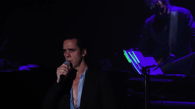 """Watch Nick Cave and The Bad Seeds Perform """"Distant Sky"""" From Forthcoming Live EP"""