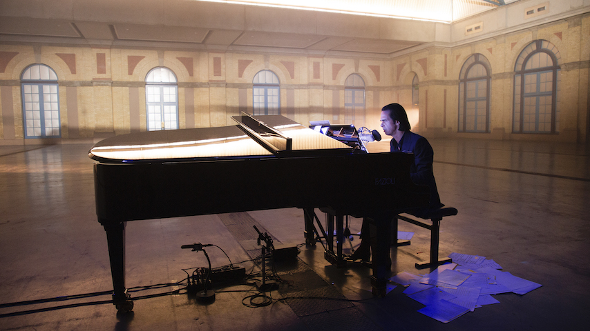 Nick Cave Announces Live Album and Film <i>Idiot Prayer - Nick Cave Alone at Alexandra Palace</i>