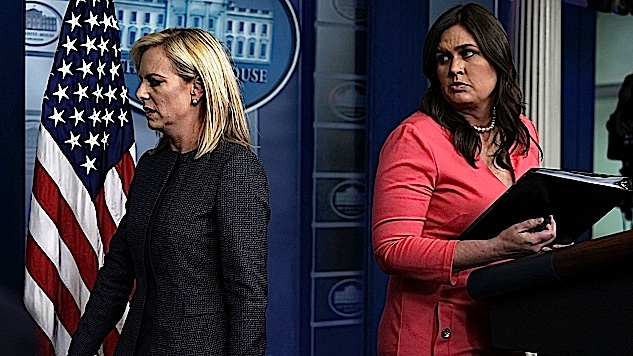 Report Homeland Security Secretary Kirstjen Nielsen Drafting Order to End Family Separation Will Trump Sign
