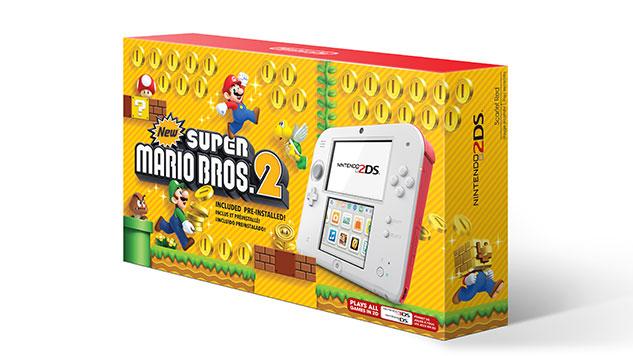 Nintendo Announces 2DS Bundle Days After New 2DS XL Launch