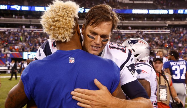 Mainstream Media Exposes Their Bias in Their NFL Coverage of Odell Beckham Jr. And Tom Brady's Outbursts