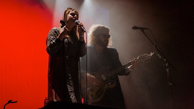 Watch Jim James and Angel Olsen Cover Sonny & Cher at David Lynch Festival