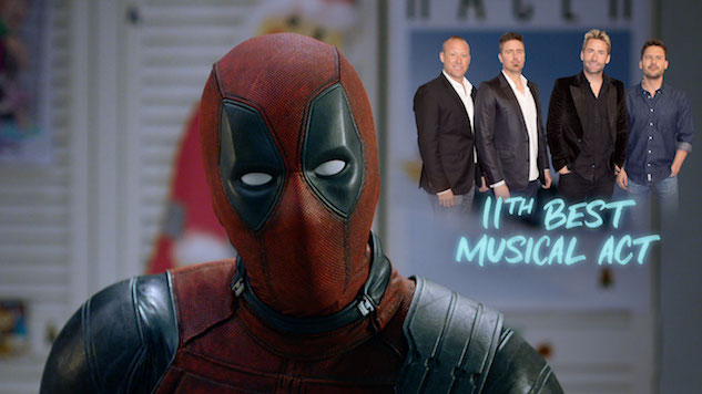Watch Deadpool Defend Nickelback in Second <i>Once Upon A Deadpool</i> Teaser