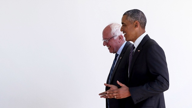 Will Obama Actually Try to Tank Bernie Sanders?