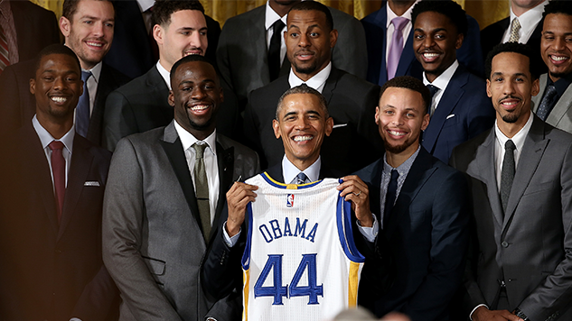 Golden State Warriors, with No Invite from Trump, Meet with Obama Instead